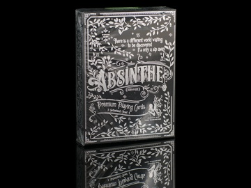 Karty Bicycle Absinthe