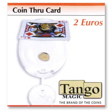 Coin thru card - 2 Euro