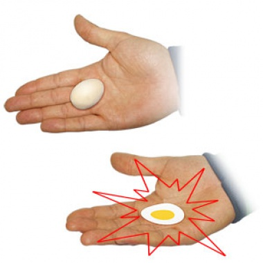 Crushed egg