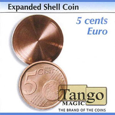 Expanded shell coin - 5 cents Euro