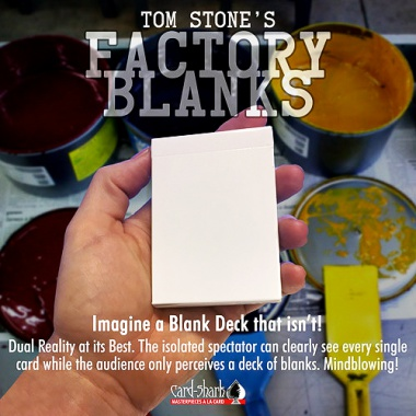Factory Blanks - by Tom Stone