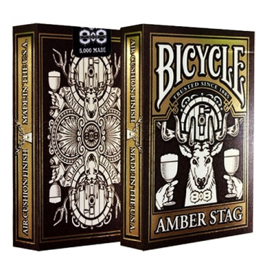 Karty Bicycle - Amber Stag