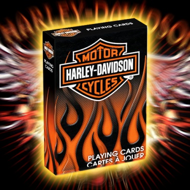 Karty Bicycle - Harley Davidson Motor Cycles