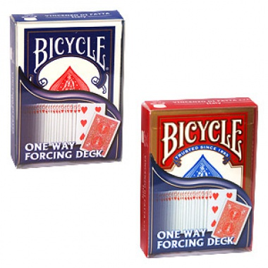 Karty Bicycle - One way forcing deck