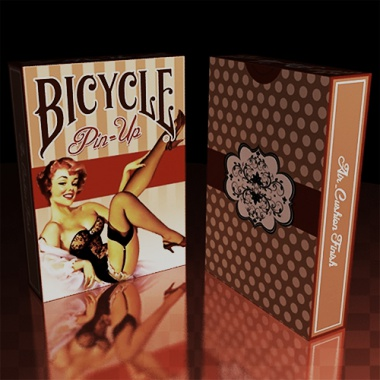 Karty Bicycle - Pin-Up