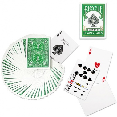 Karty Bicycle - Poker deck - zielone