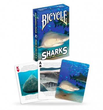 Karty Bicycle - Sharks