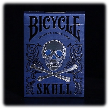 Karty Bicycle - Skull - Luxury