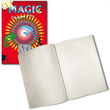 Magic Coloring Book - Large - Blank