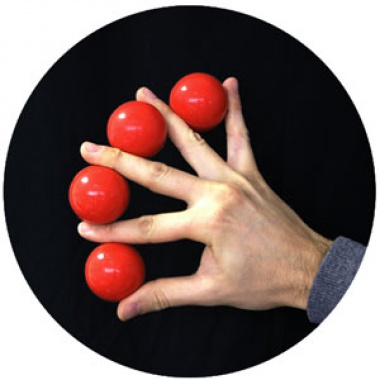 Multiplying balls plus - Red