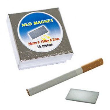 Neo-Magnet 28 x 15 x 2 mm (15 pcs per box)