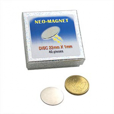 Neo-Magnet - Disc 22 x 1 mm
