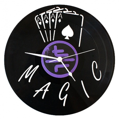 Record magic clock