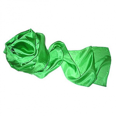 Silk streamer - Green - 20 cm x 5 mt